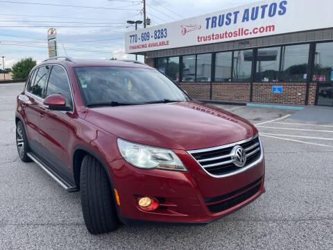 2011 Volkswagen Tiguan for sale at Trust Autos, LLC in Decatur GA