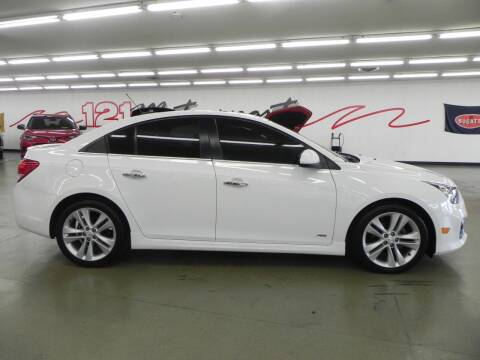 2015 Chevrolet Cruze for sale at 121 Motorsports in Mount Zion IL