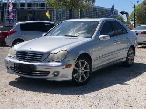 2007 Mercedes-Benz C-Class for sale at Pro Cars Of Sarasota Inc in Sarasota FL