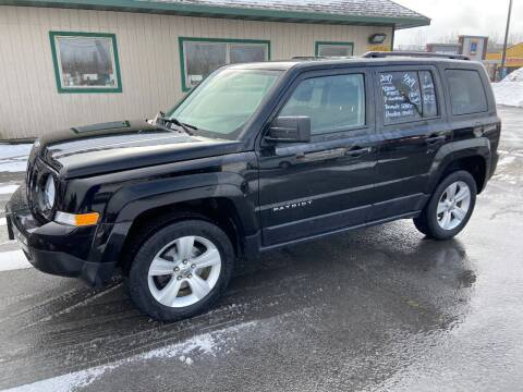 2017 Jeep Patriot for sale at Mark Regan Auto Sales in Oswego NY