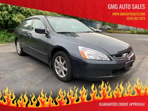 2004 Honda Accord for sale at GMG AUTO SALES in Scranton PA