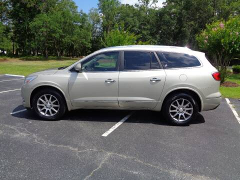 2015 Buick Enclave for sale at BALKCUM AUTO INC in Wilmington NC
