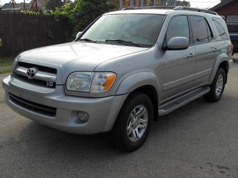 2006 Toyota Sequoia for sale at GLOBAL AUTOMOTIVE in Grayslake IL