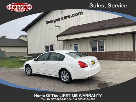 2008 Nissan Maxima for sale at GEORGE'S CARS.COM INC in Waseca MN