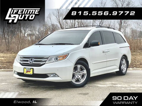 2012 Honda Odyssey for sale at Lifetime Auto in Elwood IL