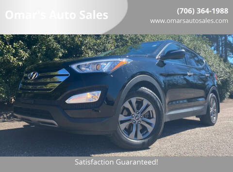2013 Hyundai Santa Fe Sport for sale at Omar's Auto Sales in Martinez GA