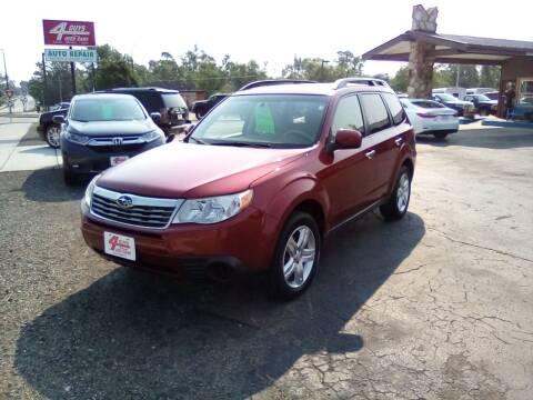 2010 Subaru Forester for sale at Four Guys Auto in Cedar Rapids IA