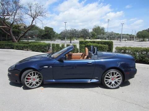 2006 Maserati GranSport for sale at Auto Sport Group in Delray Beach FL