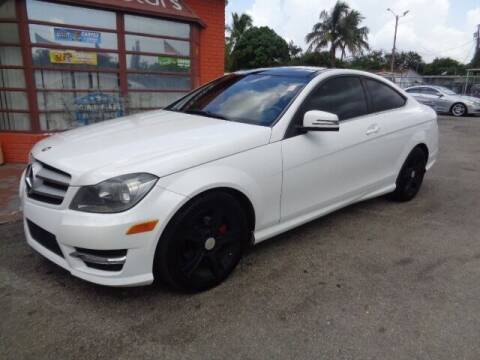 2013 Mercedes-Benz C-Class for sale at Z MOTORS INC in Hollywood FL