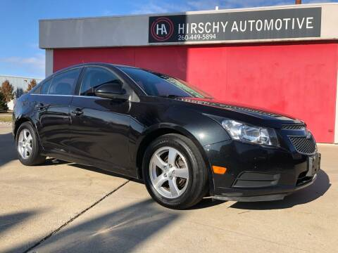 2013 Chevrolet Cruze for sale at Hirschy Automotive in Fort Wayne IN