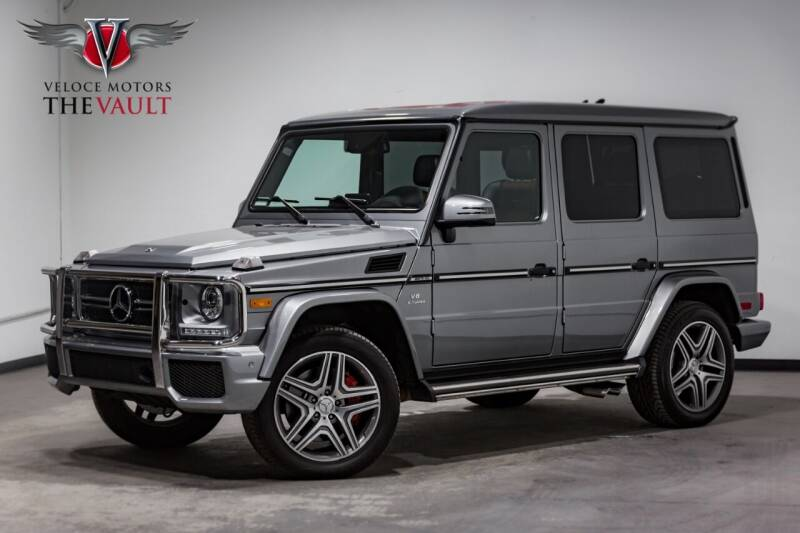 2018 Mercedes-Benz G-Class for sale at Veloce Motors in San Diego CA