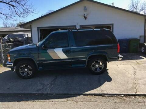 1994 Chevrolet Blazer for sale at Classic Car Deals in Cadillac MI