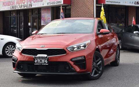 2019 Kia Forte for sale at Foreign Auto Imports in Irvington NJ