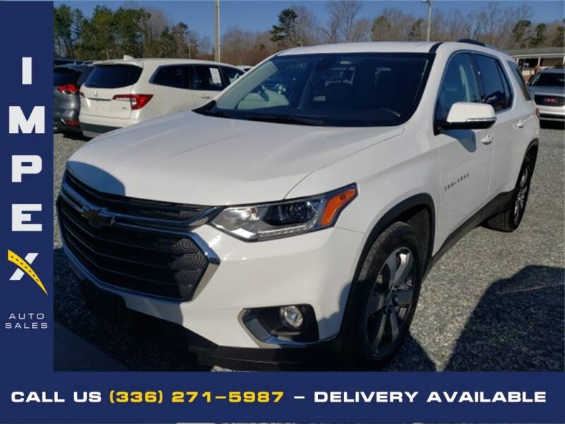 2018 Chevrolet Traverse for sale at Impex Auto Sales in Greensboro NC