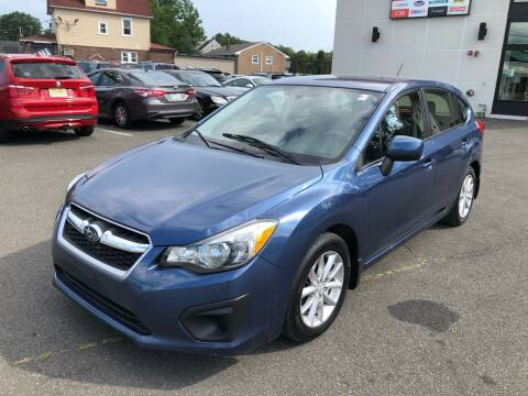 2012 Subaru Impreza for sale at MAGIC AUTO SALES in Little Ferry NJ