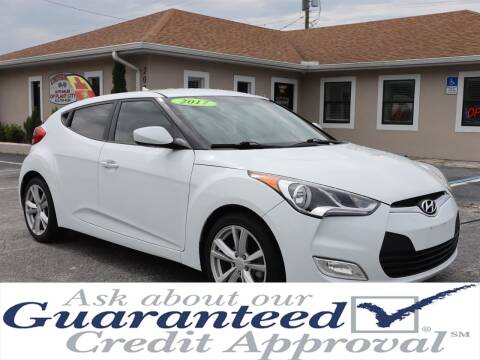 2017 Hyundai Veloster for sale at Universal Auto Sales in Plant City FL