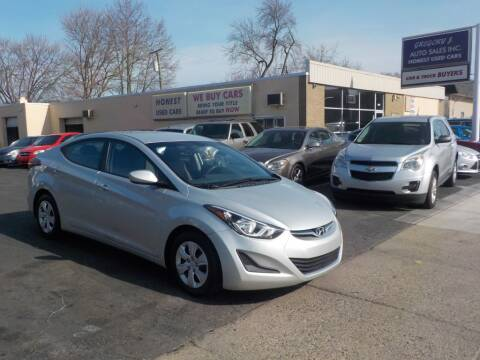 2016 Hyundai Elantra for sale at Gregory J Auto Sales in Roseville MI