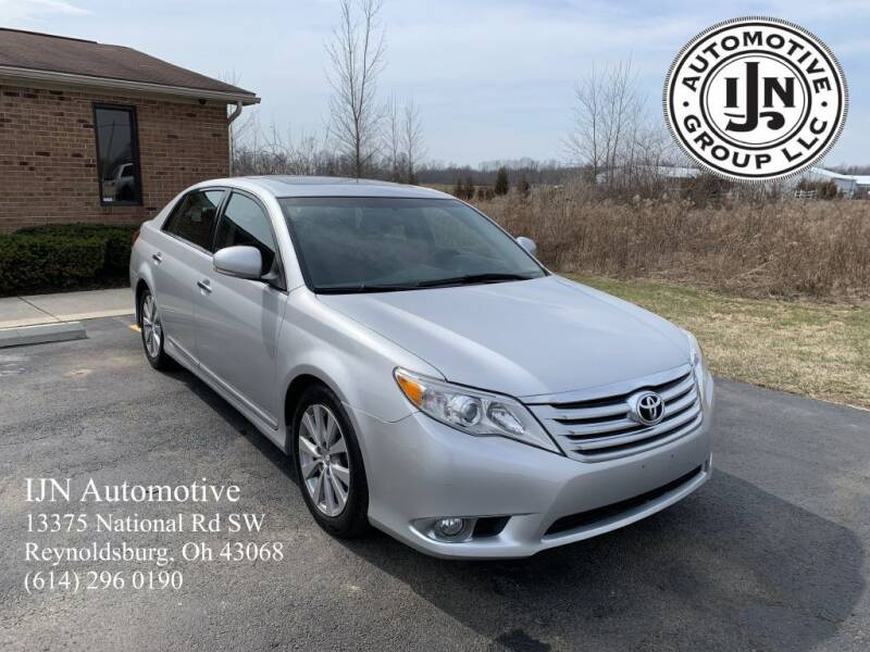 2011 Toyota Avalon for sale at IJN Automotive Group LLC in Reynoldsburg OH