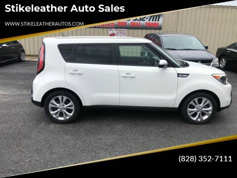 2014 Kia Soul for sale at Stikeleather Auto Sales in Taylorsville NC
