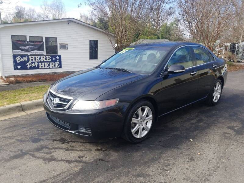 2005 Acura TSX for sale at TR MOTORS in Gastonia NC