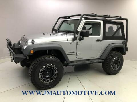 2017 Jeep Wrangler for sale at J & M Automotive in Naugatuck CT