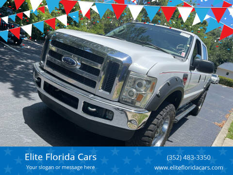 2004 Ford F-250 Super Duty for sale at Elite Florida Cars in Tavares FL