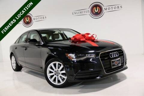 2014 Audi A6 for sale at Unlimited Motors in Fishers IN