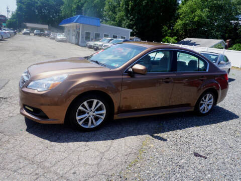 2013 Subaru Legacy for sale at Colonial Motors in Mine Hill NJ
