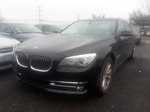 2013 BMW 7 Series for sale at M & M Auto Brokers in Chantilly VA