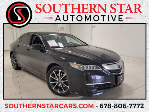 2015 Acura TLX for sale at Southern Star Automotive, Inc. in Duluth GA