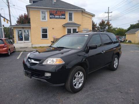 2005 Acura MDX for sale at Top Gear Motors in Winchester VA