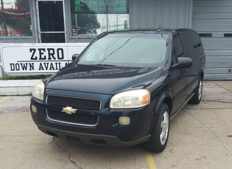 2005 Chevrolet Uplander for sale in Muskegon, MI