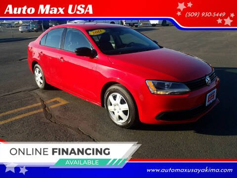 2011 Volkswagen Jetta for sale at Auto Max USA in Yakima WA