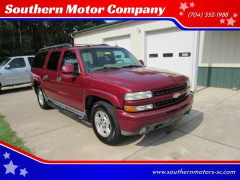2005 Chevrolet Suburban for sale at Southern Motor Company in Lancaster SC