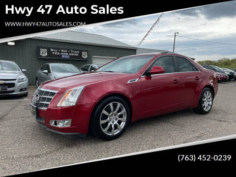 2008 Cadillac CTS for sale at Hwy 47 Auto Sales in Saint Francis MN