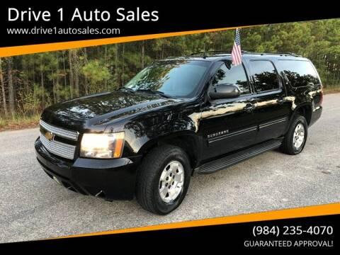 2014 Chevrolet Suburban for sale at Drive 1 Auto Sales in Wake Forest NC