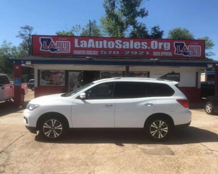 2017 Nissan Pathfinder for sale at LA Auto Sales in Monroe LA