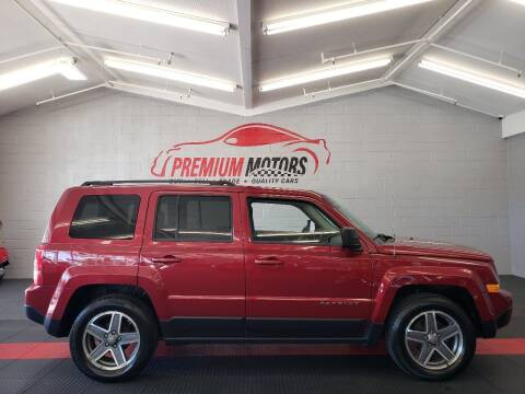 2015 Jeep Patriot for sale at Premium Motors in Villa Park IL