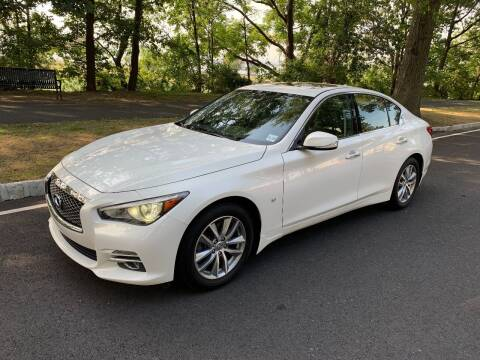 2015 Infiniti Q50 for sale at Crazy Cars Auto Sale in Jersey City NJ