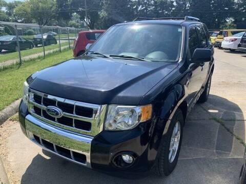 2008 Ford Escape for sale at Martell Auto Sales Inc in Warren MI