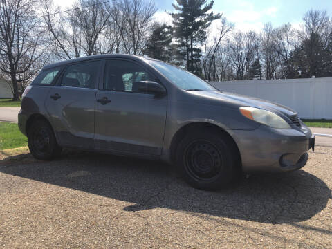 2005 Toyota Matrix for sale at Jim's Hometown Auto Sales LLC in Byesville OH