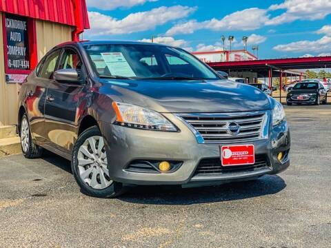2015 Nissan Sentra for sale at MAGNA CUM LAUDE AUTO COMPANY in Lubbock TX