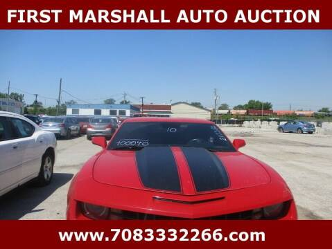 2010 Chevrolet Camaro for sale at First Marshall Auto Auction in Harvey IL