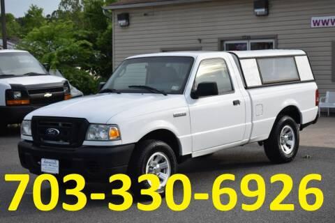 2008 Ford Ranger for sale at MANASSAS AUTO TRUCK in Manassas VA