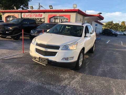 2011 Chevrolet Traverse for sale at CARSTRADA in Hollywood FL
