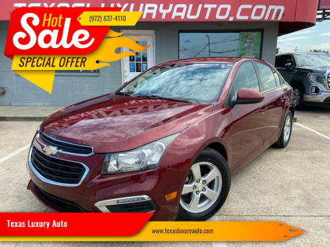 2016 Chevrolet Cruze Limited for sale at Texas Luxury Auto in Cedar Hill TX
