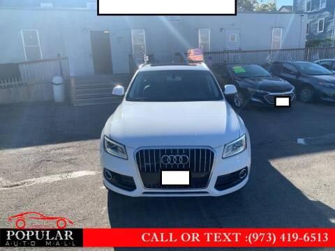 2016 Audi Q5 for sale at Popular Auto Mall Inc in Newark NJ