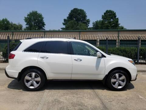 2012 Acura MDX for sale at Hollingsworth Auto Sales in Wake Forest NC