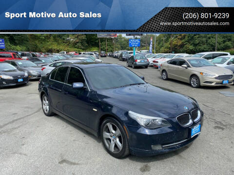 2008 BMW 5 Series for sale at Sport Motive Auto Sales in Seattle WA