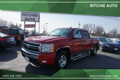 2010 Chevrolet Silverado 1500 for sale at Ritchie Auto in Appleton WI